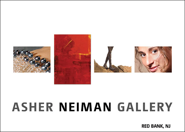 Asher Neiman Gallery Grand Opening Postcard